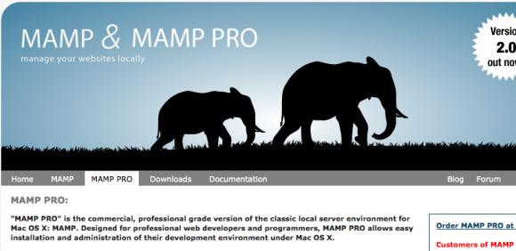 Mac, apache, MySQL, PHP